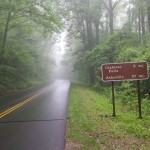 Blue Ridge Parkway - This was a bit optimistic!
