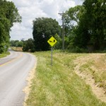 These signs were installed extensively in Kentucky.