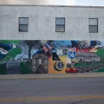 Wall art in Marshfield, Missouri