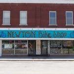 A famous place in Newton among riders of the Transamerica Trail: bike shop, hostel, and so much more...