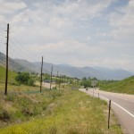 Climbing up Highway 40 outside Denver