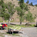 Camping in Idaho Springs, CO.
