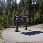 In the end I lost count on how often I crossed the Continental Divide. Must have been 6 or 7 times.