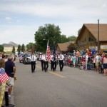 4h of July Parade. Ennis, MT.