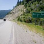 Of course the last mile in Montana was another mountain pass.