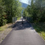 The Trail of the Coeur d'Alenes in the Idaho panhandle. Cycling in the U.S. doesn't get much better!