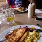 Mei, san die guat! We had a Bavarian/Austrian lunch in Leavenworth.