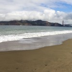 Baker Beach in San Francisco.